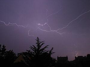 CC lightning strike