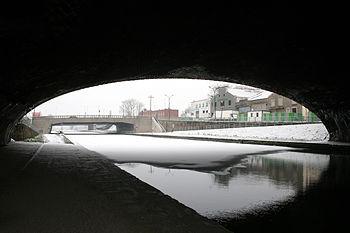 Pont sur le Canal Saint-Denis