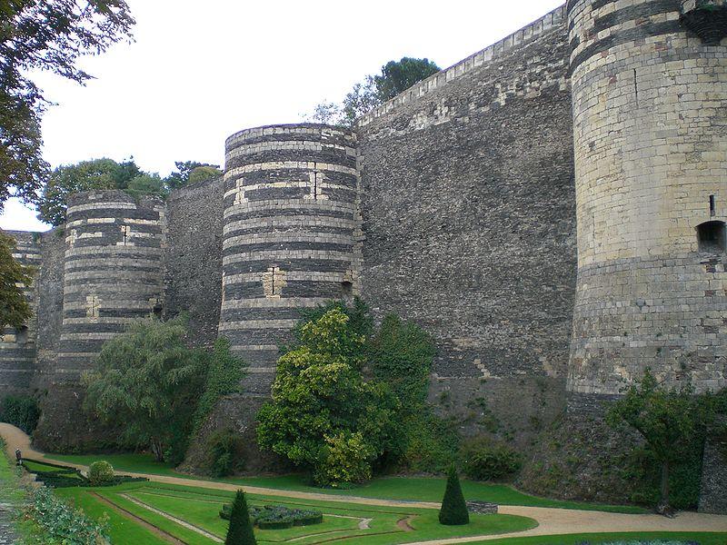 Château angers rempart