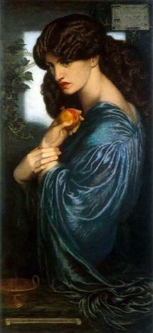 Proserpine, by Dante Gabriel Rossetti.