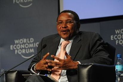 English: Jakaya Kikwete, fourth President of T...