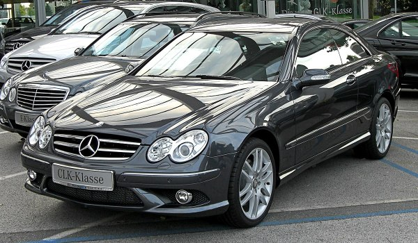 MercedesBenz CLKClass C209 Wikipedia
