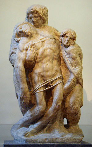 Attributed to Michelangelo: Pietà Palestrina. ...