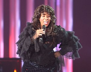 Donna Summer at The Nobel Peace Price Concert 2009