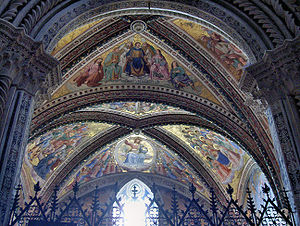Ceiling of the San Brizio Chapel,