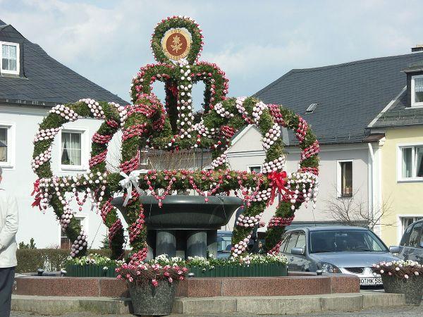 Osterbrunnen Wikip233dia