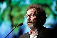 Per Petterson vinnare av Nordiska radets litteraturpris 2009 vid utdelningen i Stockholm under Nordiska radets session (1).jpg