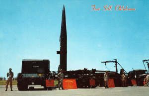 English: Pershing 1 missile on display at Fort...