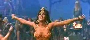 Screenshot of Gina Lollobrigida as Sheba from ...