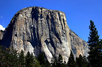 English: El Capitan in Yosemite National Park ...