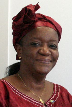 English: Zainab Bangura cropped from: 6 July 2...