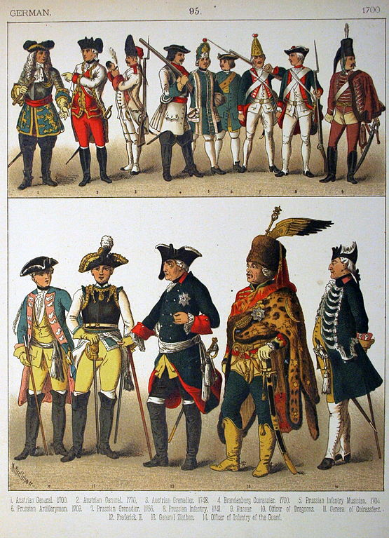 File1700 German 095 Costumes Of All Nations 1882
