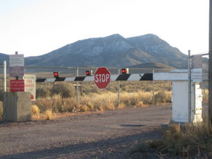 Back Gate to Area 51