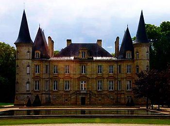 Chateau Pichon Baron, Pauillac, Bordeaux, France