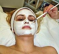 A Facial mask.