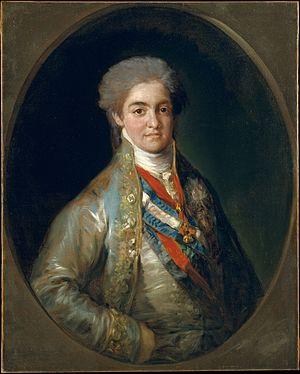Fernando, príncipe de Asturias, boceto prepara...