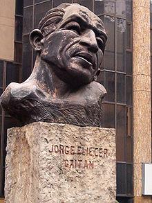 Monument représentant Gaitán