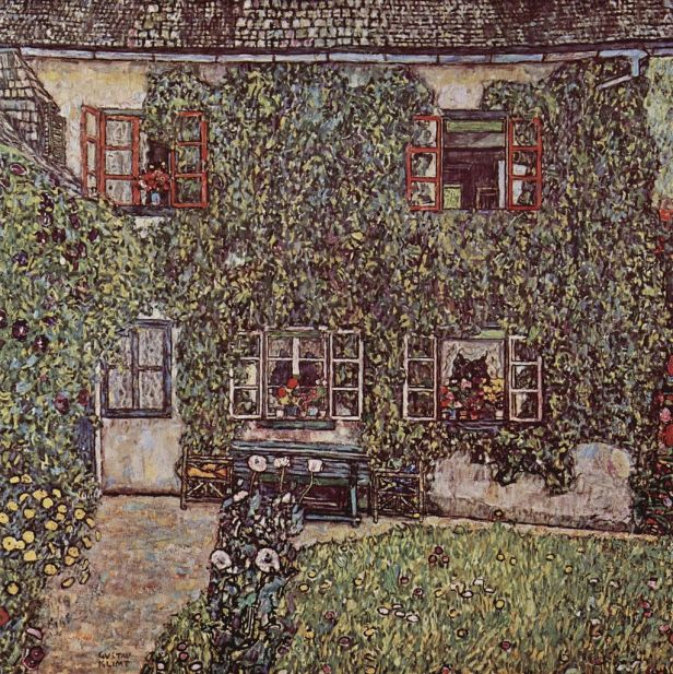 """The House of Guardaboschi"" by Gustav Klimt"