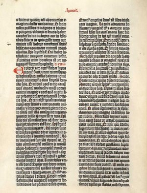 """Gutenberg bible"" page"