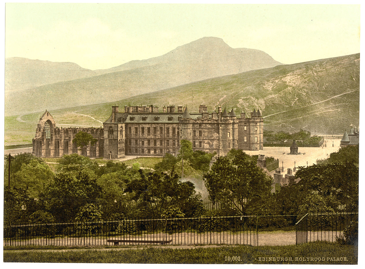 File Holyrood Palace James Valentine 1890 1900 Jpg