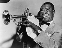 Louis Armstrong negli anni '50