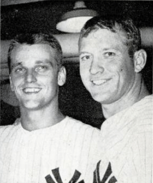 "The ""M&M Boys,"" Mickey Mantle (right..."