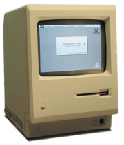Macintosh 128K, first ever Mac released in 1984