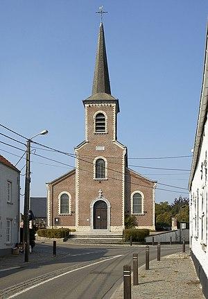 Church in Maransart (Lasne), Belgium