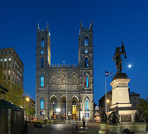 English: Notre-Dame Basilica, Montreal, Quebec...