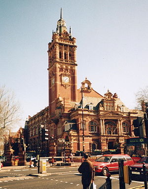 Newham Town Hall in East Ham (E6)