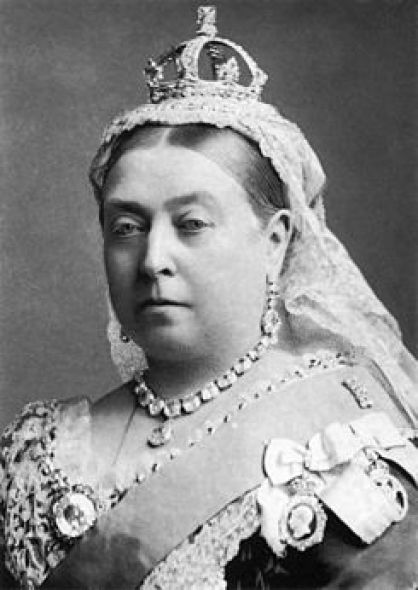 Photograph of Queen Victoria, 1882
