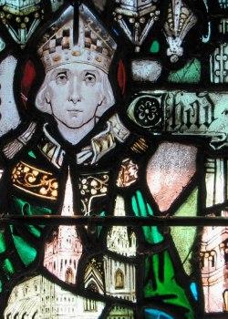 sveti Ceada (Chad) iz Lichtfielda - škof