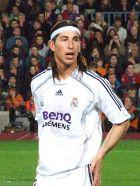 Català: Sergio Ramos, jugador del Real Madrid,...