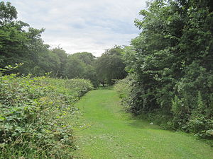English: Swan Lane Open Space, Whetstone, Barn...