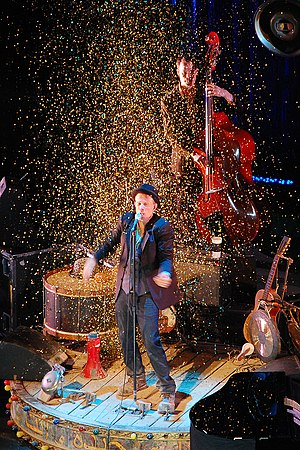 Tom Waits concert, July 2008, Prague.