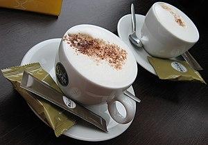 English: Two Delicious Cappuccino Deutsch: Zwe...