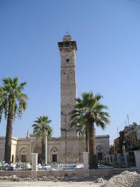 Vue du minaret, aujourd'hui détruit.