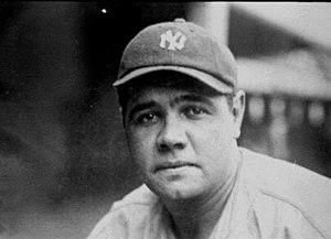 Babe Ruth played the majority of his career in...