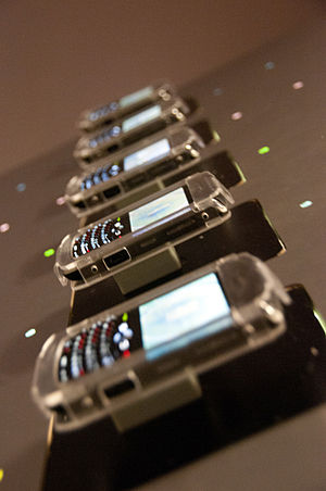 Title: Devices English: BlackBerrys at The Mus...