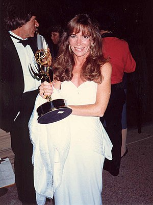 Photo of Cathy Guisewite at the Emmy Awards.