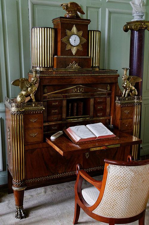 Château de Valençay Cabinet de travail 2