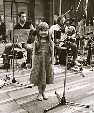 English: British child singer Connie Talbot, a...
