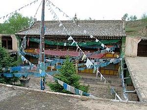 Das Geburtshaus des 14. Dalai Lama im Dorf Tak...