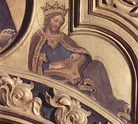 Prophet David, by Gentile da Fabriano.