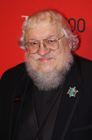 English: George R. R. Martin at the 2011 Time ...