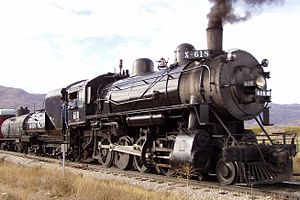 English: The Union Pacific 618 at Heber Valley...