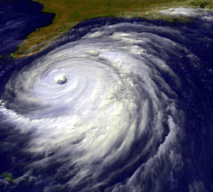 Satellite image of Hurricane Floyd