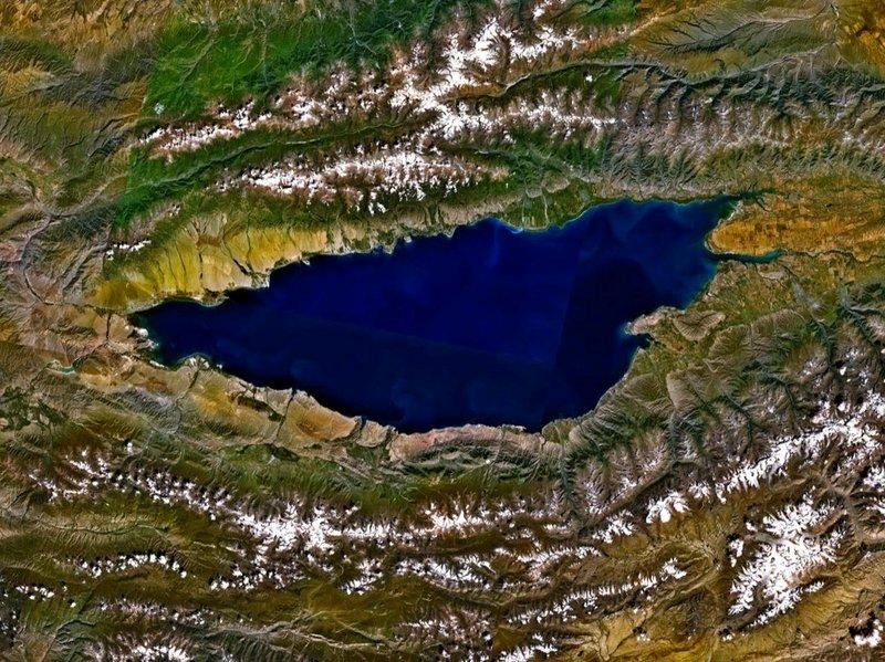 Danau Issik Kull, Rusia