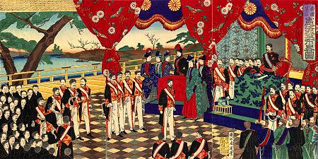 大日本帝国発布式