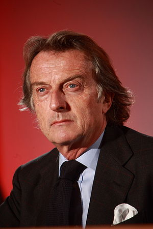 English: Luca Cordero di Montezemolo in 2008